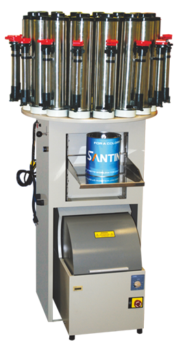 Dispensers and Mixers for the Paint Industry - Santint